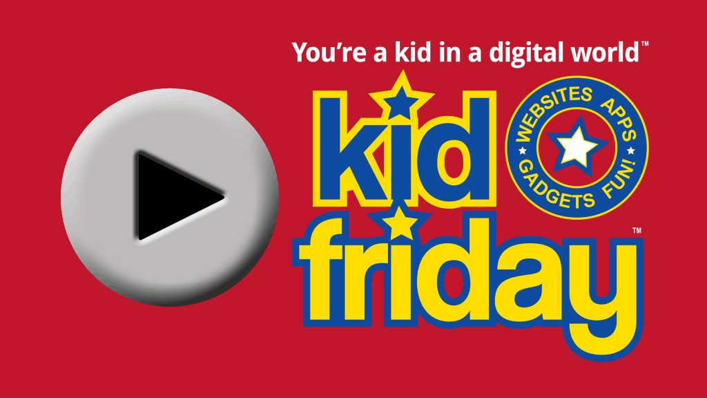 Kid Friday Podcast - iPhone Battery and MORE! - Kid Friday Podcast Logo - Technology podcast for kids