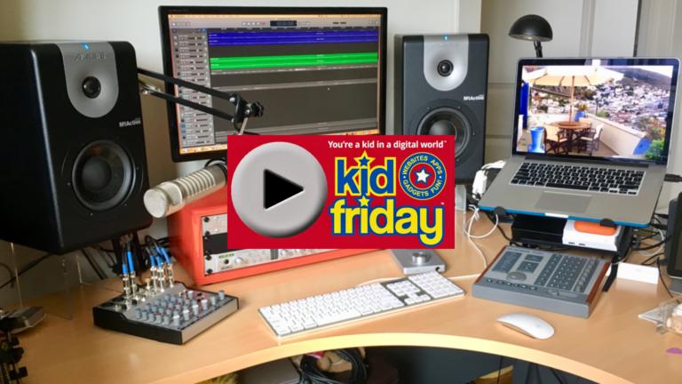 "Kid Friday Studio ""C"" Tween - Teen Technology Podcast for kids."