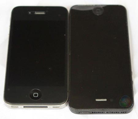 New iPhone 5 Rumors Show Taller, Thinner Case