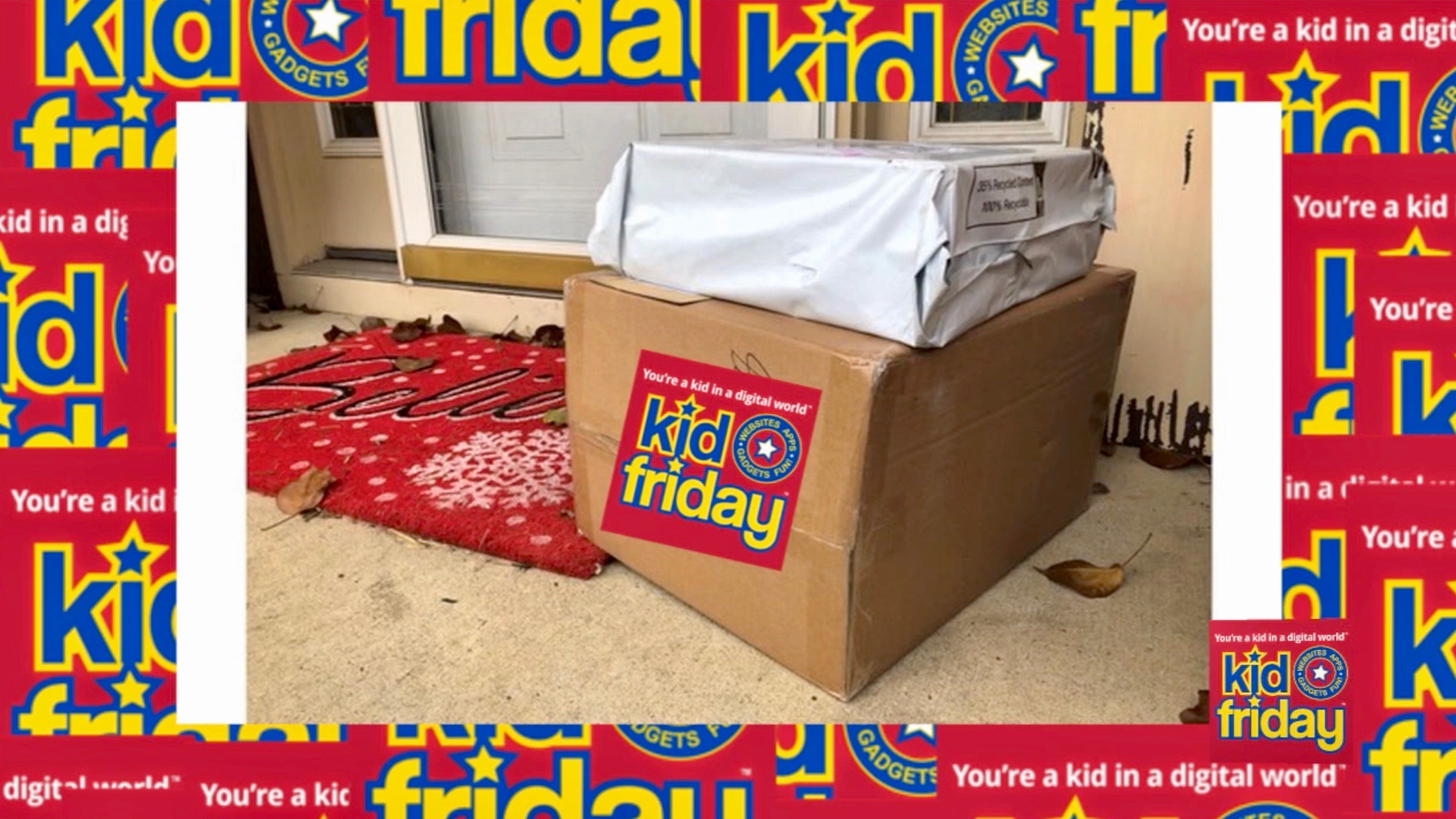 Packages are stolen by thieves - Kid Friday Podcast - Technology for kids